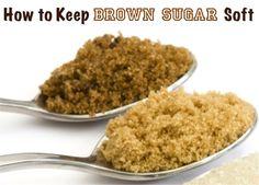 How to Keep Brown Sugar Soft…