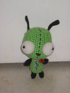 yes...another Gir ami...NOW WITH PATTERN - CROCHET