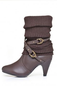 Trinity Calf length Midi Boots in Brown Winter Warmers, Calves, Booty, Ankle, Shoes, Collection, Fashion, Baby Cows, Swag