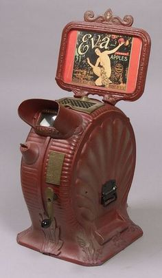 倫☜♥☞倫 mutoscope eva - early peepshow machines ....♡♥♡♥♡♥Love it