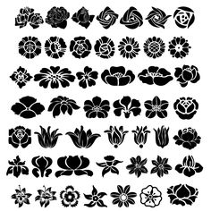 Free SVG Flowers for Home Decor and more. Stencil Patterns, Stencil Art, Stencil Designs, Embroidery Patterns, Stenciling, Large Stencils, Arabesque, Silkscreen, Silhouette Cameo Projects