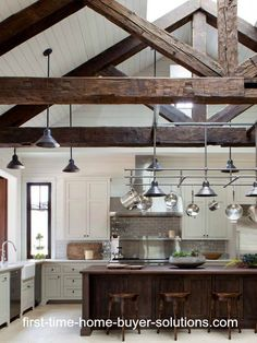 Would you like a nice rustic look as this in your kitchen?