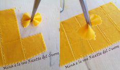 Mina e le sue Ricette del Cuore: Farfalle di pasta fresca con carciofi e salsiccia.