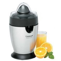 Cuisinart Citrus Juicer,$30 at wegmans….freshly squeezed grapefruit juice everyday!!! best investment