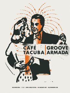 GigPosters.com - Groove Armada - Cafe Tacuba