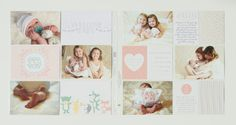 Stampin Up Hello Baby Girl collection