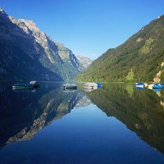 Klöntalersee, Glarus, Switzerland - Turn the sight inside yourself...