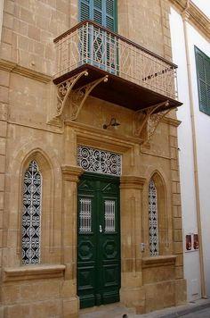 beautiful facade.. Nicosia, Cyprus