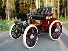 1898 Hay Motor Vehicle - Antique Car & Auto Museum Photos | Fountainhead Antique Auto Museum