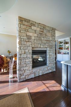 1000 images about Landmark Stone Fireplaces on Pinterest