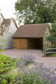 Mistletoe Cottage - Border Oak - oak framed houses, oak framed garages and structures.