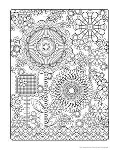 Bonjour Coloristes Adult Coloring PagesPrintable