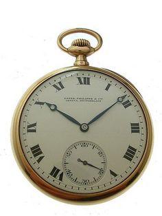 the Patek Philippe antique pocket watches
