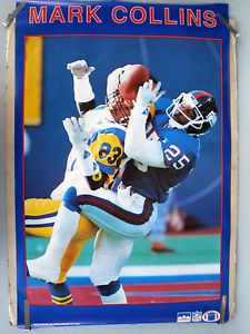 Mark Collins #nyg Giants CB - 1990 #SBXXV #chiefs