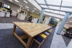 Office design, fit-out, interior design, Meeting space, colourful