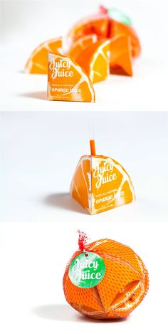 juice box packaging concept for Juicy Juice by Preston Grubs