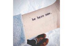 33 Awesome Minimalist Tattoos Every Yogi Will Want Inked