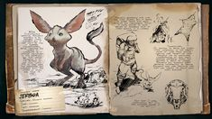Deutsches Dino Dossier: Jerboa (Scorched Earth) - ARK: Survival Evolved