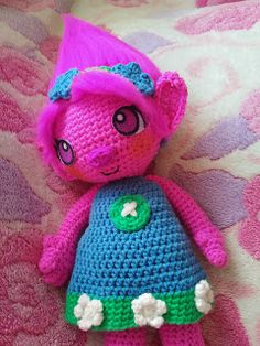 Princess Poppy Free pattern (-^.^-)