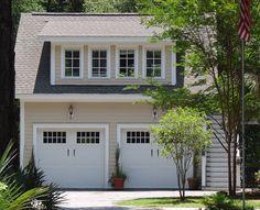 Carriage House Design Plans | Authorityformulas. Four window dormer.