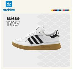 0e4569fd7 The latest size  Exclusive is the very retro adidas Originals Suisse.
