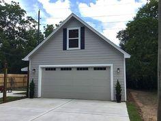 2 Car Garage Plans, Garage Plans With Loft, Garage Apartment Plans, Two Story Garage, Garage Workshop Plans, Garage Apartments, Garage House, Diy Garage, Dream Garage