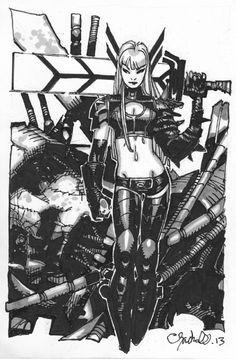 Magik, in GaryMacindoe's My Gallery Comic Art Gallery Room - 1030449