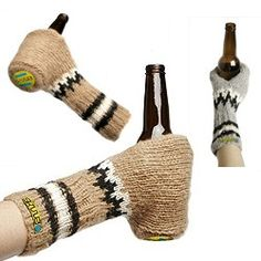 Special beer gloves from Scandinavia.