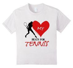 Golly Girls: My Heart Beats for Tennis T-Shirt