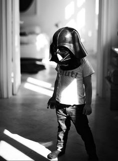I think every family should have a Darth Vader helmet.