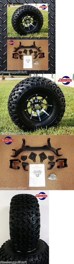 Other Golf Accessories 1514: Ezgo Txt Electric Golf Cart 6 Lift Kit + 10 Wheels And 22 All Terrain Tires -> BUY IT NOW ONLY: $604 on eBay!