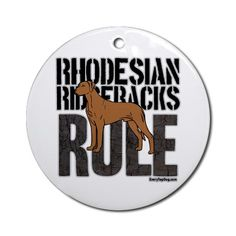 Rhodesian Ridgebacks Rule