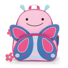 Buy a Skip Hop backpack to easily hold all the supplies your girls might need for a day of travel or play. Your children will love this backpack for the bright pink butterfly style, you will love the backpack for it's Skip Hop practical design. Animal Backpacks, Kids Backpacks, Little Boy And Girl, Little Boys, Little Kid Fashion, Kids Fashion, Cheap Fashion, Fashion Women, Mochila Skip Hop