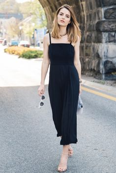jumpsuit cropped wide leg - Google Search