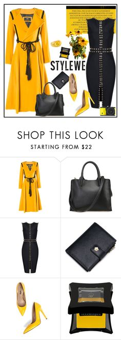 """STYLEWE outerwear for autumn"" by carola-corana ❤ liked on Polyvore featuring Illamasqua, Baccarat and stylewe"