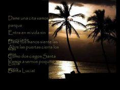 Miguel Rios - Santa Lucia /Letras Santa Lucia, Miguel Rios, Youtube, Saints, Song Quotes, Parks, Messages, Lyrics, Life