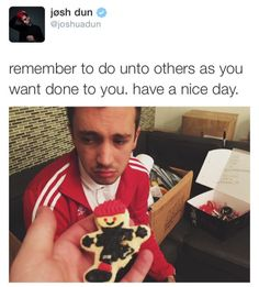 Awww poor Tyler 😂 that face makes me sad.. Tyler no don't cry 😂😭😭josh dun funny   funny ones are funny   Tumblr