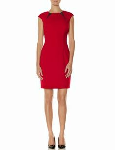 Mesh Cutout Sheath Dress