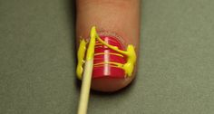It is good to see this new #nailart technique !
