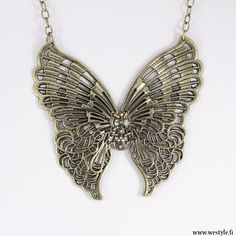 Is this gorgeous or gorgeous? Butterfly, Jewellery, Fashion, Moda, Jewels, Fashion Styles, Schmuck, Fashion Illustrations, Butterflies