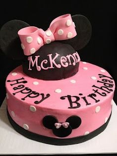 Minnie Mouse Cake Ideas | Minnie Mouse Birthday Party Ideas | Mickey Mouse| Disney | Daisy Duck | Minnie's Yoo Hoo | Minnies Bowtique Party | Fun | Custom Cake | Birthday Cake for Girls Ideas | Smash Cake | Minnies Bows | Mickey Mouse Clubhouse | Minnie Mouse Birthday Cake  By Leilani's Heavenly Cakes