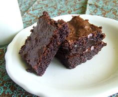Dense & Fudgy Brownies {Grain Free & Paleo}
