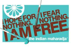 The Indian Maharadja CAMPAIGN 2014 - Tein
