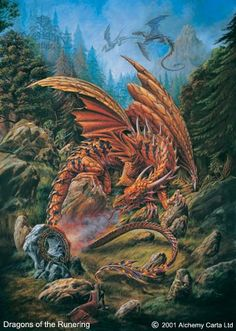 Dragons of the Runering