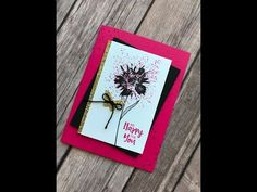 Stampin' Up! Touches of Texture | Episode #13 - YouTube