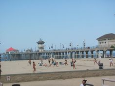 Beach volleyball Huntington Beach