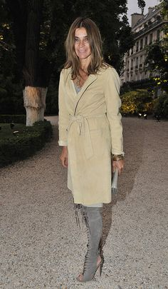 Carine Roitfeld, editor-in-chief of CR Magazine & former editor-in-chief of Vogue Paris