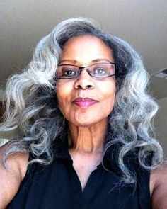 Instagram Beauties With Long Gray Hair | Fabulous After 40