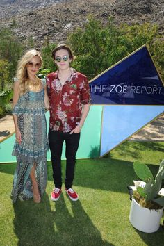 Brooklyn Beckham Photos Photos - Rachel Zoe (L) and Brooklyn Beckham arrive at ZOEasis presented by The Zoe Report and Guess on April 16, 2016 in Palm Springs, California. - ZOEasis Presented by the Zoe Report and Guess