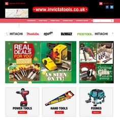 Retail Websites, Makita, Hand Tools, Baseball Cards